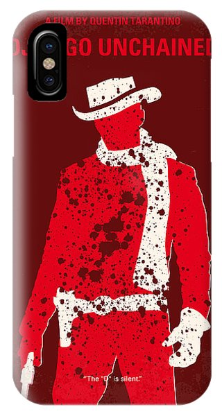 Hunting iPhone Case - No184 My Django Unchained Minimal Movie Poster by Chungkong Art