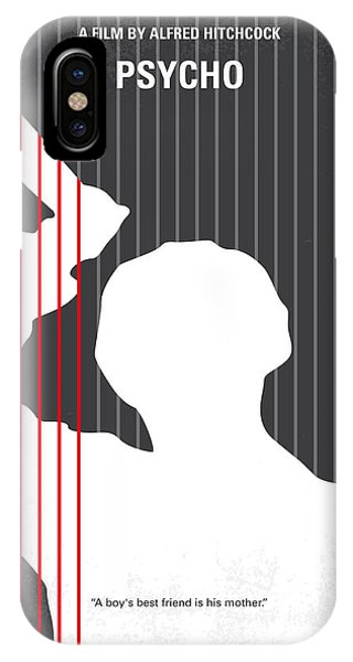 Movie iPhone Case - No185 My Psycho Minimal Movie Poster by Chungkong Art