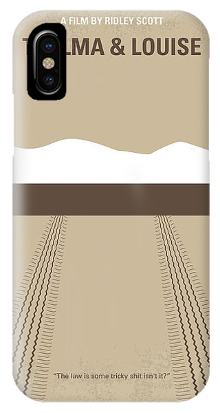 No189 My Thelma And Louise Minimal Movie Poster IPhone Case