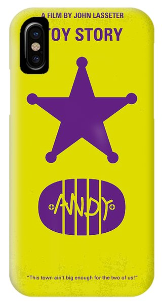 No190 My Toy Story Minimal Movie Poster IPhone Case