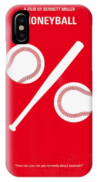 No191 My Moneyball Minimal Movie Poster IPhone Case