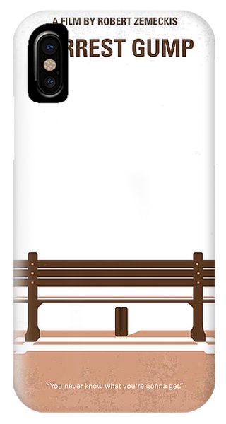 Movie iPhone Case - No193 My Forrest Gump Minimal Movie Poster by Chungkong Art