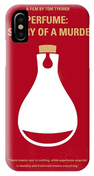 Scent iPhone Case - No194 My Perfume The Story Of A Murderer Minimal Movie Poster by Chungkong Art