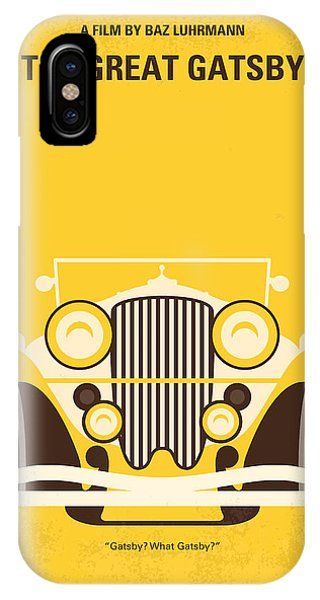 Retro iPhone Case - No206 My The Great Gatsby Minimal Movie Poster by Chungkong Art