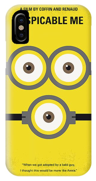 No213 My Despicable Me Minimal Movie Poster IPhone Case