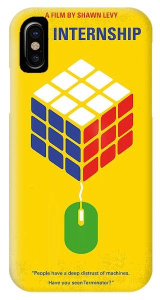 Nerd iPhone Case - No215 My The Internship Minimal Movie Poster by Chungkong Art