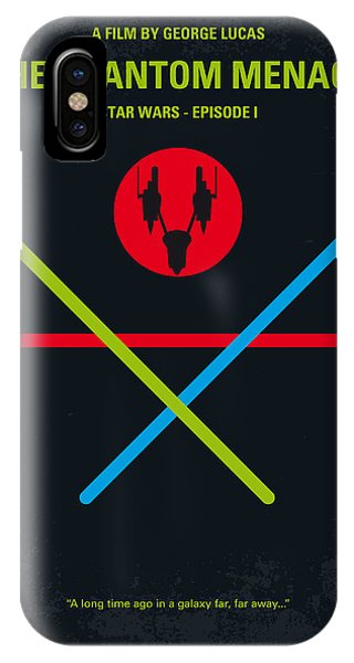 Knight iPhone Case - No223 My Star Wars Episode I The Phantom Menace Minimal Movie Poster by Chungkong Art