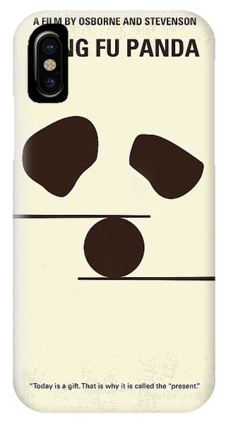 Dragon iPhone Case - No227 My Kung Fu Panda Minimal Movie Poster by Chungkong Art