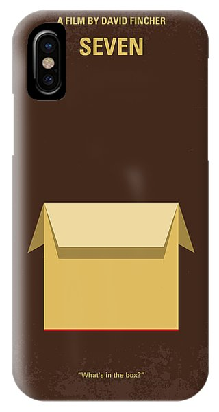 Time iPhone Case - No233 My Seven Minimal Movie Poster by Chungkong Art