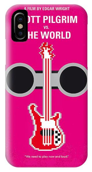 Mtv iPhone Case - No236 My Scott Pelgrim Minimal Movie Poster by Chungkong Art