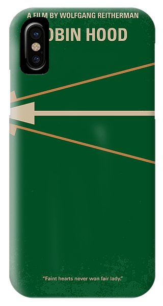 No237 My Robin Hood Minimal Movie Poster IPhone Case
