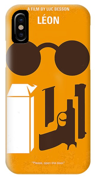 New York iPhone Case - No239 My Leon Minimal Movie Poster by Chungkong Art