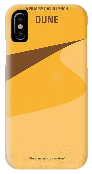 Desert iPhone Case - No251 My Dune Minimal Movie Poster by Chungkong Art
