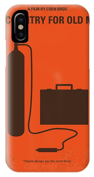 New Mexico iPhone Case - No253 My No Country For Old Men Minimal Movie Poster by Chungkong Art