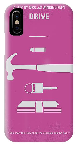 Goslings iPhone Case - No258 My Drive Minimal Movie Poster by Chungkong Art