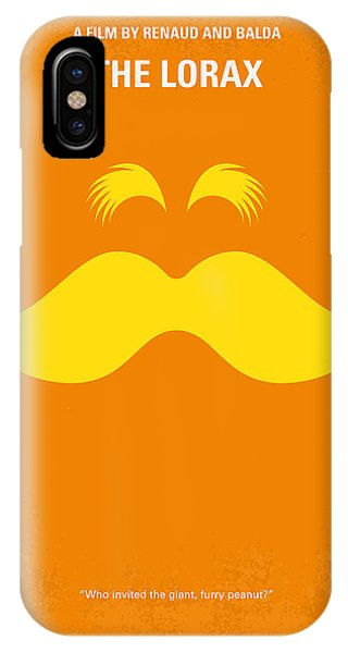 Old World iPhone Case - No261 My The Lorax Minimal Movie Poster by Chungkong Art