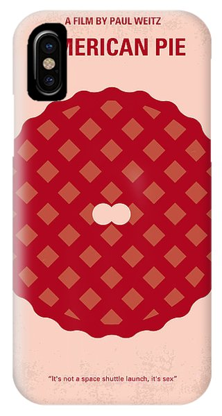 American iPhone Case - No262 My American Pie Minimal Movie Poster by Chungkong Art