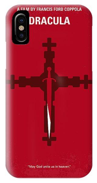 No263 My Dracula Minimal Movie Poster IPhone Case