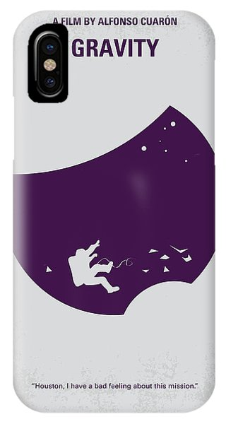 Professional iPhone Case - No269 My Gravity Minimal Movie Poster by Chungkong Art