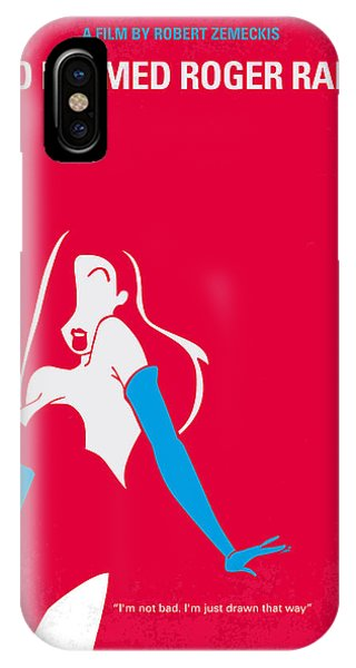 Cartoon iPhone Case - No271 My Roger Rabbit Minimal Movie Poster by Chungkong Art