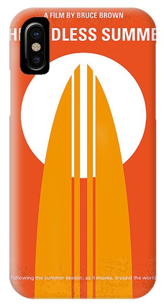 Beach iPhone Case - No274 My The Endless Summer Minimal Movie Poster by Chungkong Art