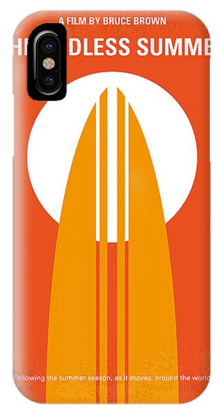 Fruit iPhone Case - No274 My The Endless Summer Minimal Movie Poster by Chungkong Art