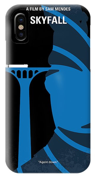 Adele iPhone Case - No277-007-2 My Skyfall Minimal Movie Poster by Chungkong Art