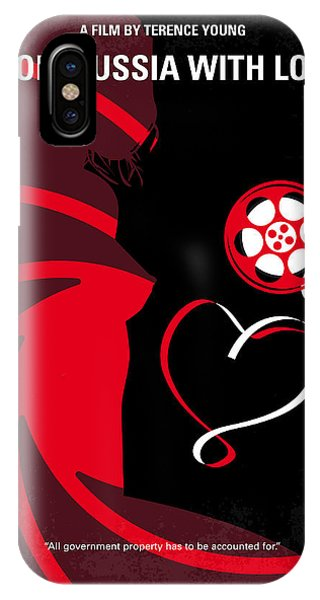No277-007 My From Russia With Love Minimal Movie Poster IPhone Case