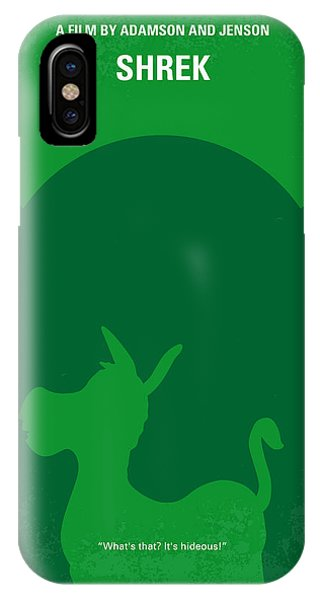 Fairy iPhone Case - No280 My Shrek Minimal Movie Poster by Chungkong Art