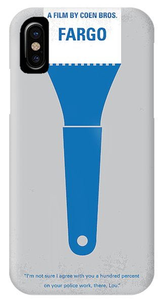 Winter iPhone Case - No283 My Fargo Minimal Movie Poster by Chungkong Art