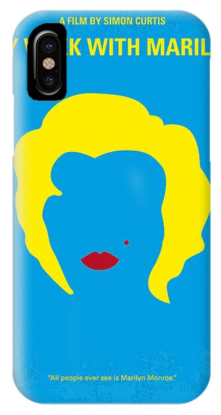 No284 My Week With Marilyn Minimal Movie Poster IPhone Case