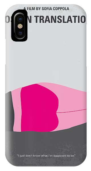 Famous Artist iPhone Case - No287 My Lost In Translation Minimal Movie Poster by Chungkong Art