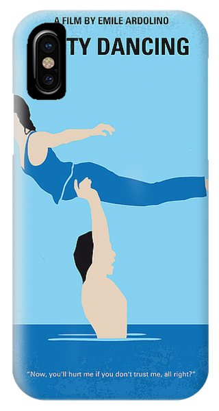 No298 My Dirty Dancing Minimal Movie Poster IPhone Case