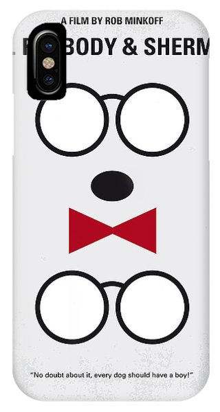 Inventor iPhone Case - No324 My Mr Peabody Minimal Movie Poster by Chungkong Art
