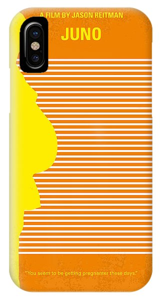 Minnesota iPhone Case - No326 My Juno Minimal Movie Poster by Chungkong Art