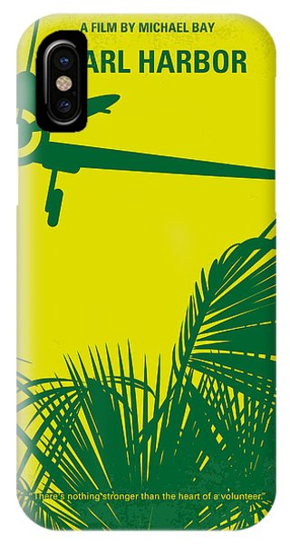 Army iPhone Case - No335 My Pearl Harbor Minimal Movie Poster by Chungkong Art