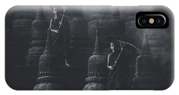 Temple iPhone Case - No.34 by Adirek M