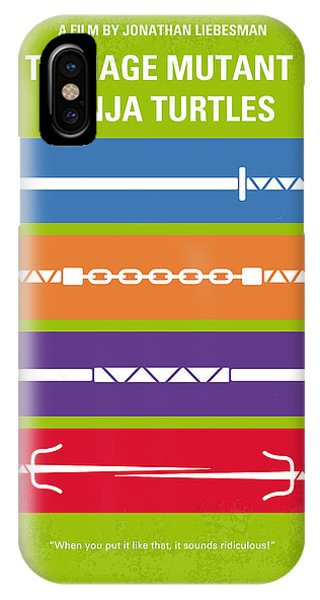 Raphael iPhone Case - No346 My Teenage Mutant Ninja Turtles Minimal Movie Poster by Chungkong Art