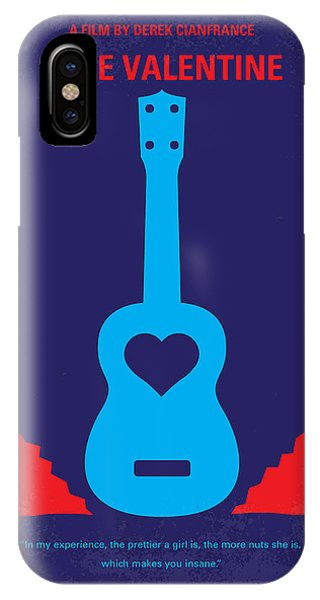Goslings iPhone Case - No379 My Blue Valentine Minimal Movie Poster by Chungkong Art