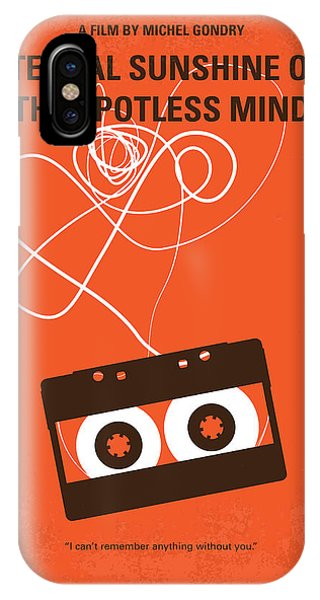 Retro iPhone Case - No384 My Eternal Sunshine Of The Spotless Mind Minimal Movie Pos by Chungkong Art