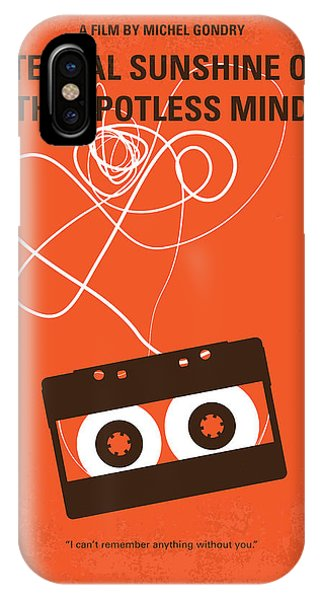 Movie iPhone Case - No384 My Eternal Sunshine Of The Spotless Mind Minimal Movie Pos by Chungkong Art