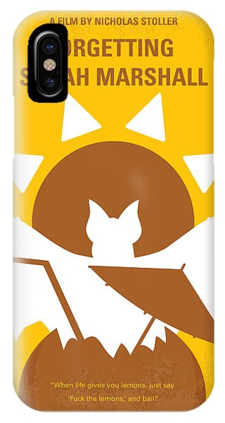 Oahu Hawaii iPhone Case - No393 My Forgetting Sarah Marshall Minimal Movie Poster by Chungkong Art