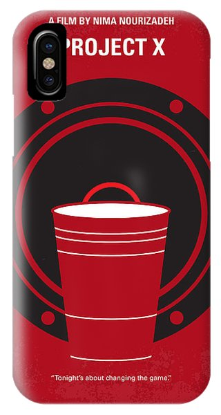 Event iPhone Case - No393 My Project X Minimal Movie Poster by Chungkong Art