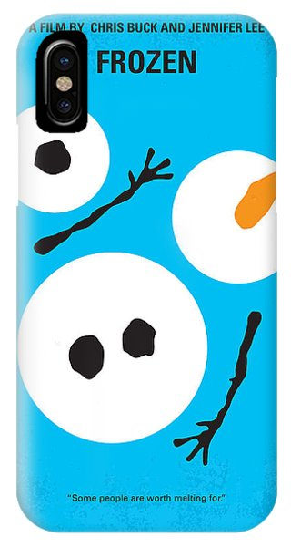 Magician iPhone Case - No396 My Frozen Minimal Movie Poster by Chungkong Art