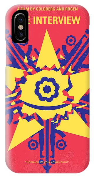 Dave iPhone Case - No400 My The Interview Minimal Movie Poster by Chungkong Art