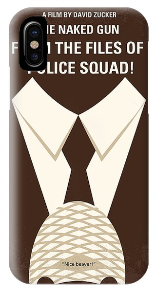 No432 My The Naked Gun Minimal Movie Poster IPhone Case