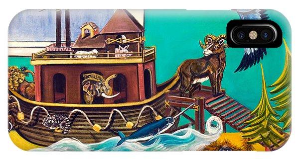 Noah's Ark Second Voyage IPhone Case