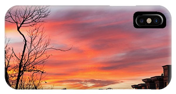 IPhone Case featuring the photograph Nob Hill Sunset by Kate Brown