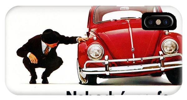 Nobodys Perfect - Volkswagen Beetle Ad IPhone Case