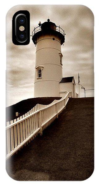 Nobska Lighthouse IPhone Case